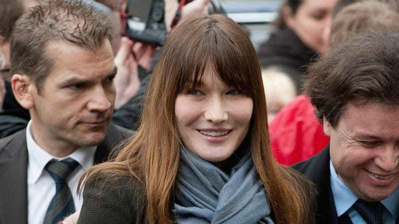 Illustration for article titled Carla Bruni-Sarkozy Is Sorry She Said That French Women Don't Need Feminism Anymore