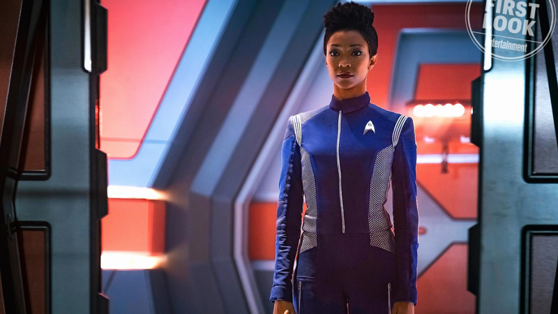 Sonequa Martin-Green beams aboard for season 2.