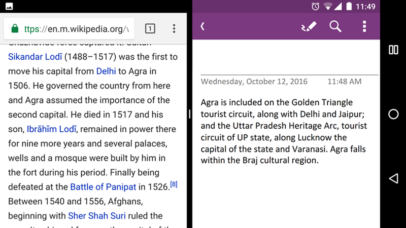 Illustration for article titled OneNote For Android Adds Multi-Window Support, Audio Recording, and More