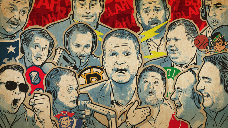 A Field Guide To Boston Sports Radio Chowderheads