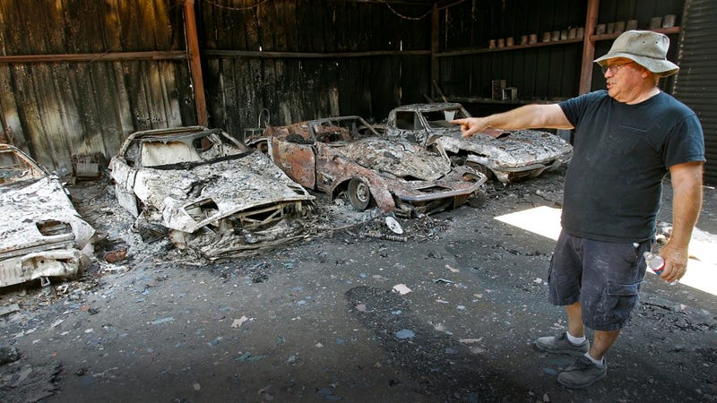 Texas Fires Destroy One Collector S Classic Cars