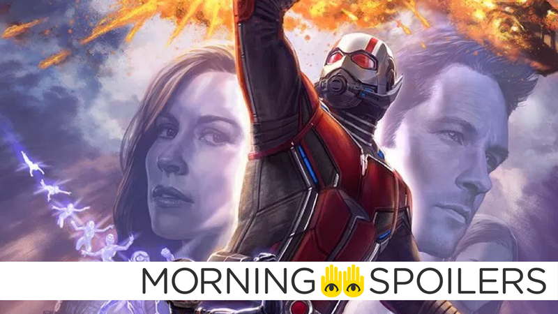 Illustration for article titled New Ant-Man and the Wasp Set Videos Reveal a New Take on an Old Marvel Villain
