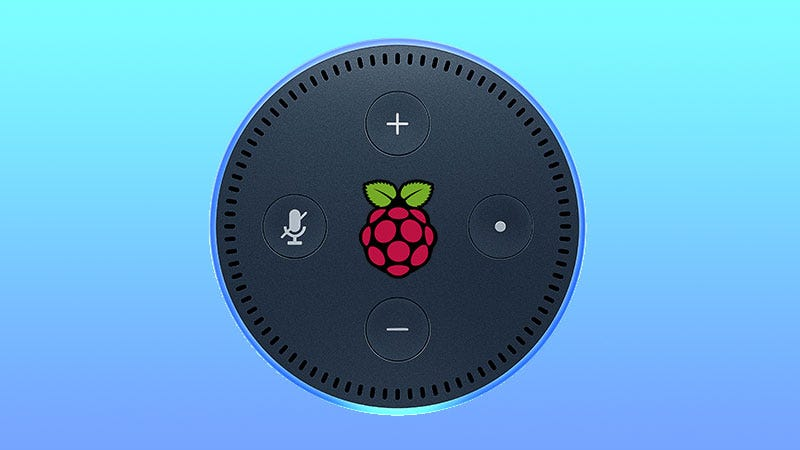 Illustration for article titled The Simplest Way to Build A Raspberry Pi-Powered Amazon Echo