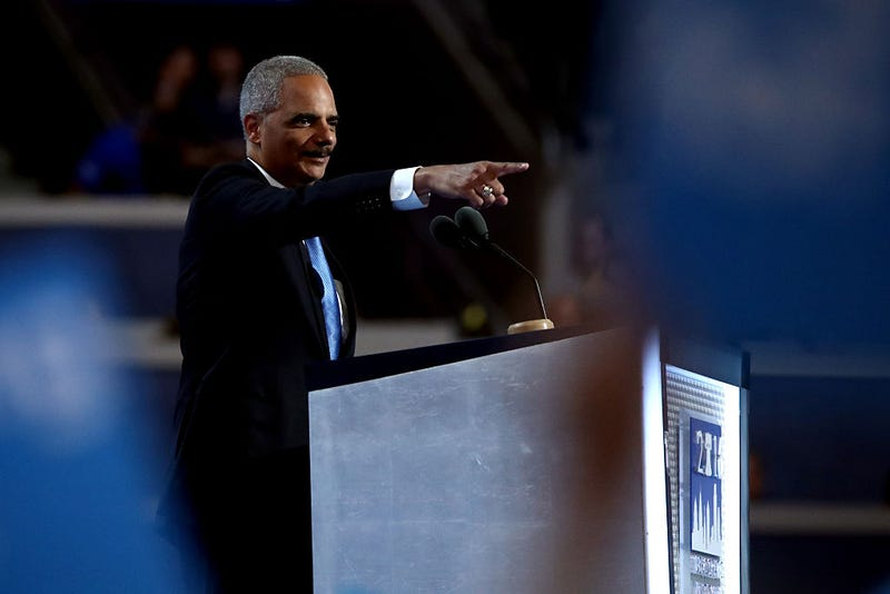 Eric Holder Considers 2020 Run: 'Now Is the Time to Be Heard'