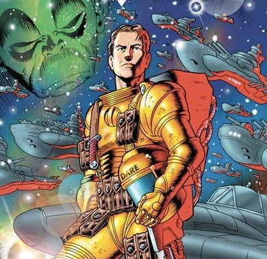 "Illustration for article titled Sam Worthington Takes On The ""British Buck Rogers,"" Dan Dare"