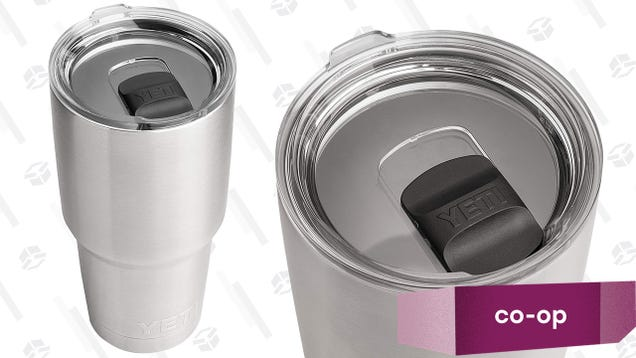 Our Readers' Favorite Cup For Drinking in the Shower: A YETI Tumbler with MagSlider Lid