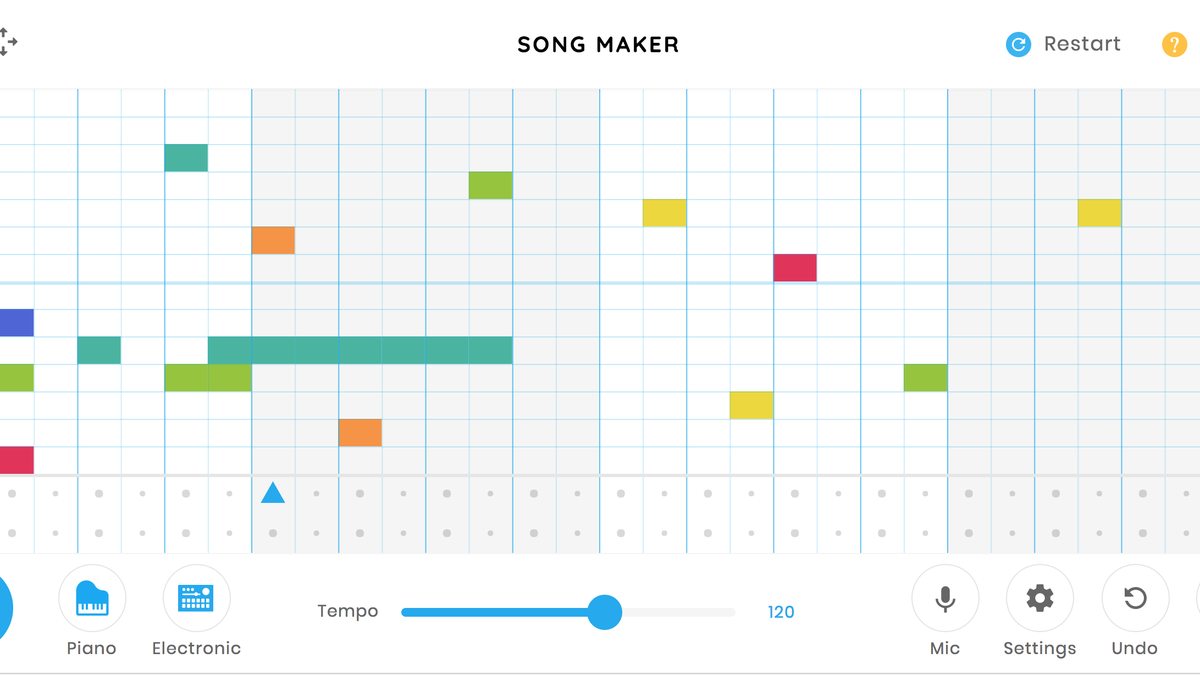 Create Your Own Original Tunes Using Google's Song Maker