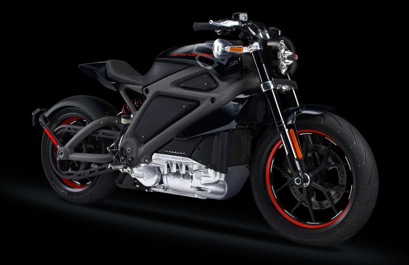 Illustration for article titled Project LiveWire Is Harley-Davidson's First Electric Motorcycle