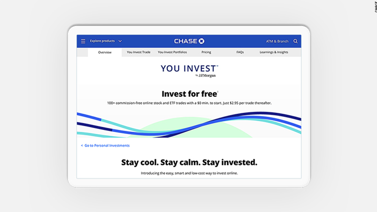 JP Morgan Is Offering No-Fee Stock Trading