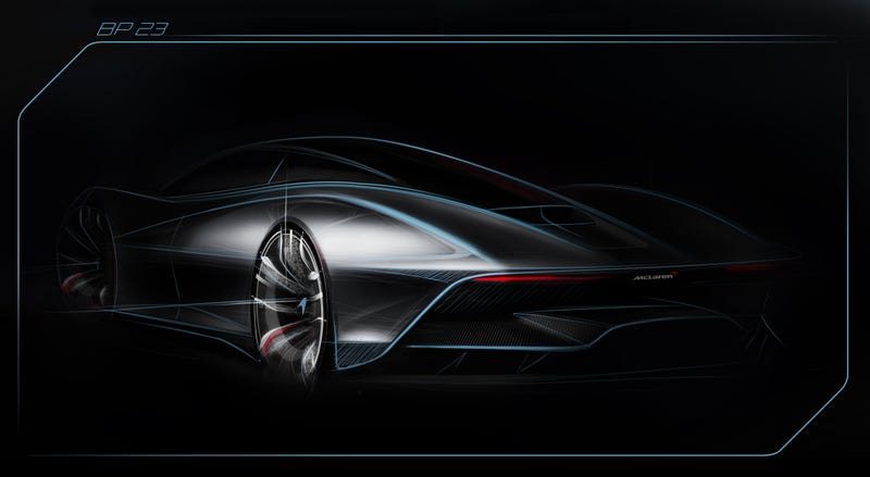 Illustration for article titled The McLaren BP23 Will Be The Fastest McLaren Ever
