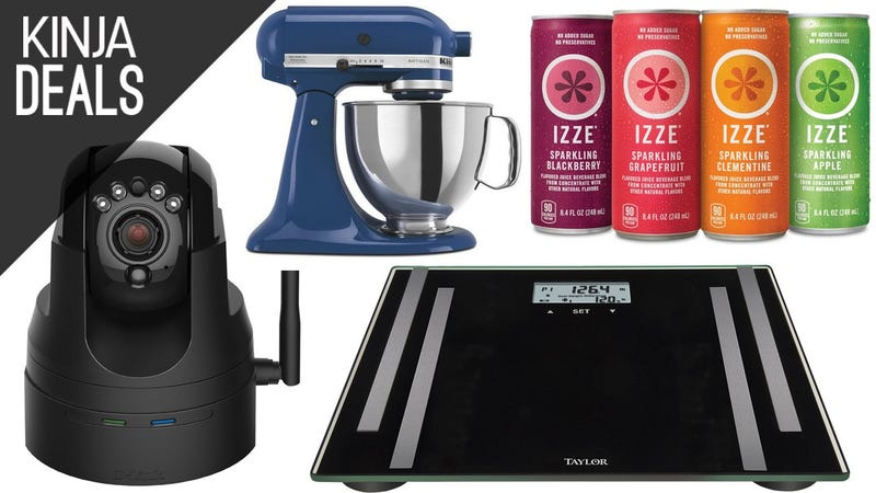 Illustration for article titled Saturday's Best Deals: $30 Smart Scale, IZZE Drinks, KitchenAid, and More