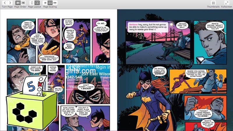 Comic Book Epub S