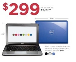 Illustration for article titled Dell Mini 10 Will Drop To $299 This Month