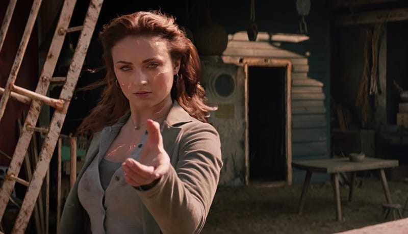 Jean Grey is taking no prisoners in Dark Phoenix.