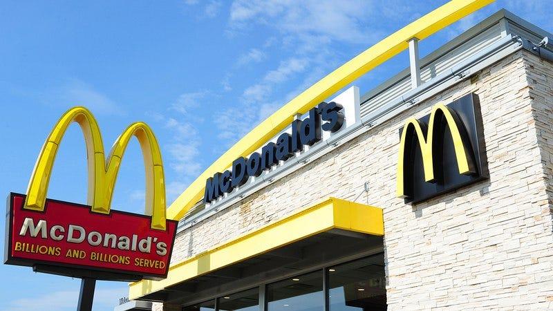 A McDonald's restaurant.