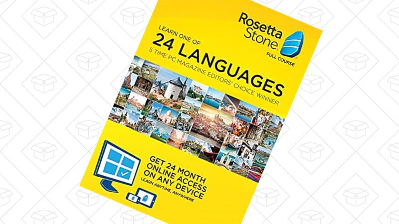 Rosetta Stone, $179