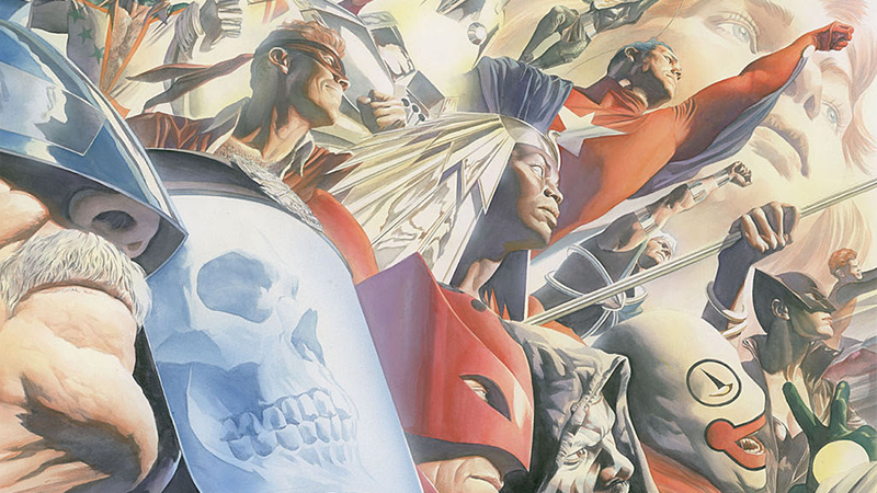 Astro City: Local Heroes cover art.