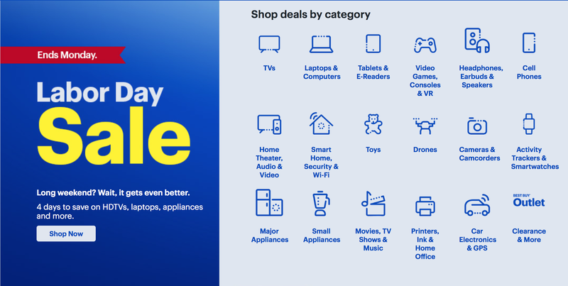 Rebajas de Labor Day en Best BuyImagen: Best Buy