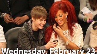 Illustration for article titled Justin Bieber Interested In Dating Rihanna