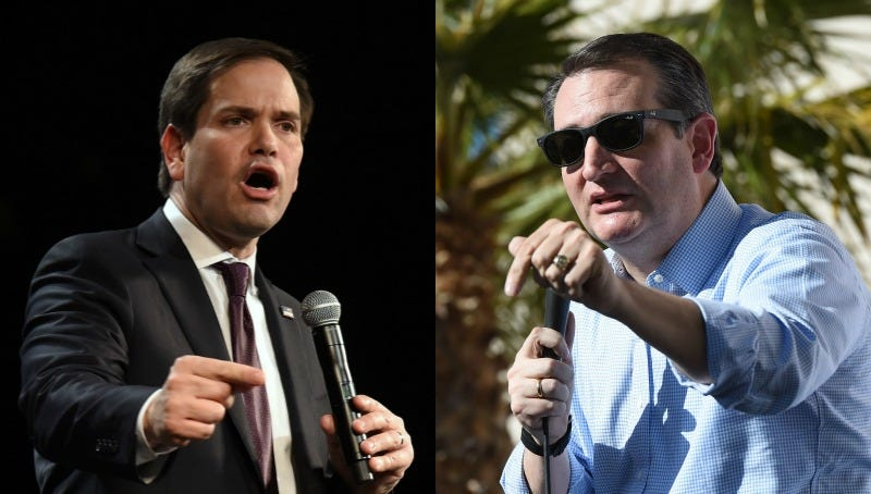 Illustration for article titled Extremely Republican Bible Controversy Between Ted Cruz and Marco Rubio Is Extremely Republican