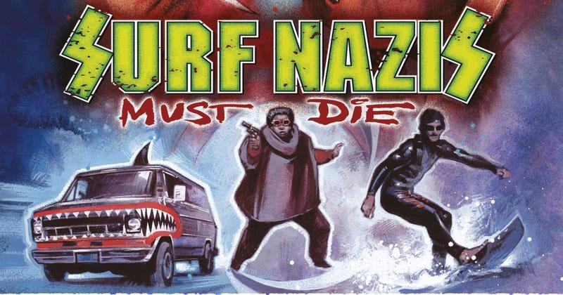 Surf Nazis Must Die DVD cover detail