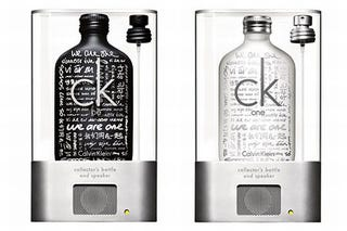 Illustration for article titled Calvin Klein MP3 Speaker Bottle: The Scent of a Gimmick