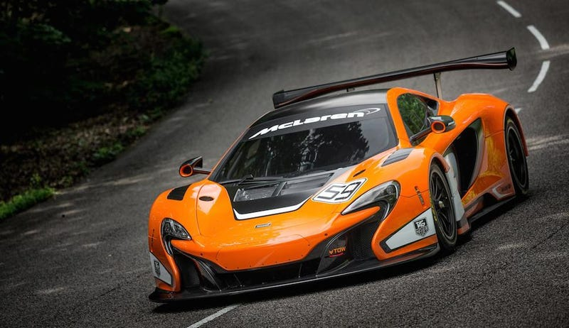 Illustration for article titled The Ultra Sinister McLaren 650S GT3 Might Race At Le Mans In 2016
