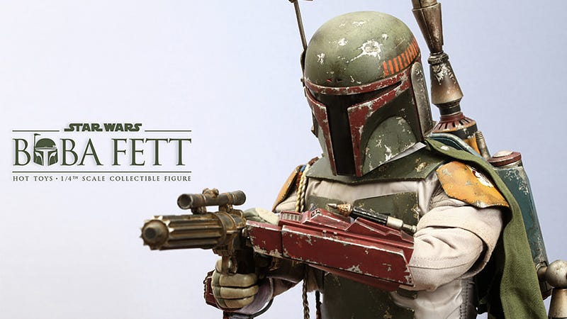 Illustration for article titled This Giant Quarter-Scale Boba Fett Is As Detailed As Figures Get