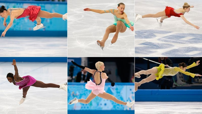 Illustration for article titled Amazing Images of Olympic Figure Skaters Defying Gravity