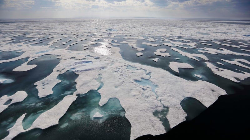 Illustration for article titled Researchers Find That Arctic Ice Is Filled With Microplastic