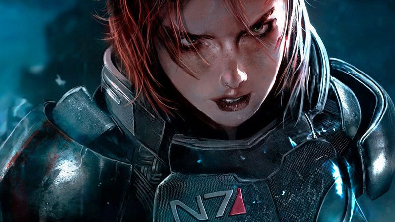 Illustration for article titled Commander Shepard Hasn't Recorded Any New Mass Effect 3 Dialogue. Yet.