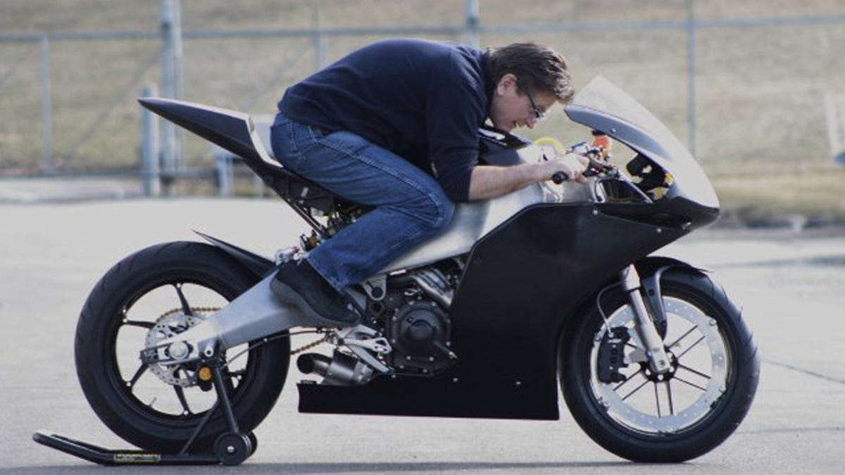 One Man's Imperfect Quest To Build Sportbikes In America