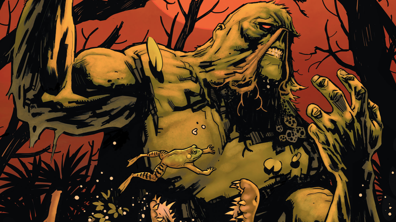 The cover of Swamp Thing #1.