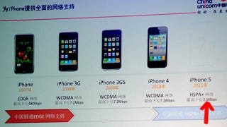 Illustration for article titled The iPhone 5's Internet Is Three Times Faster, Says Chinese Carrier