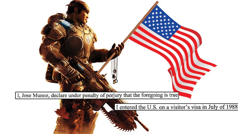 Illustration for article titled Video Games Gave Him The Chance To Prove He Is American