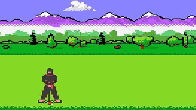 Screenshot: Ninja Golf