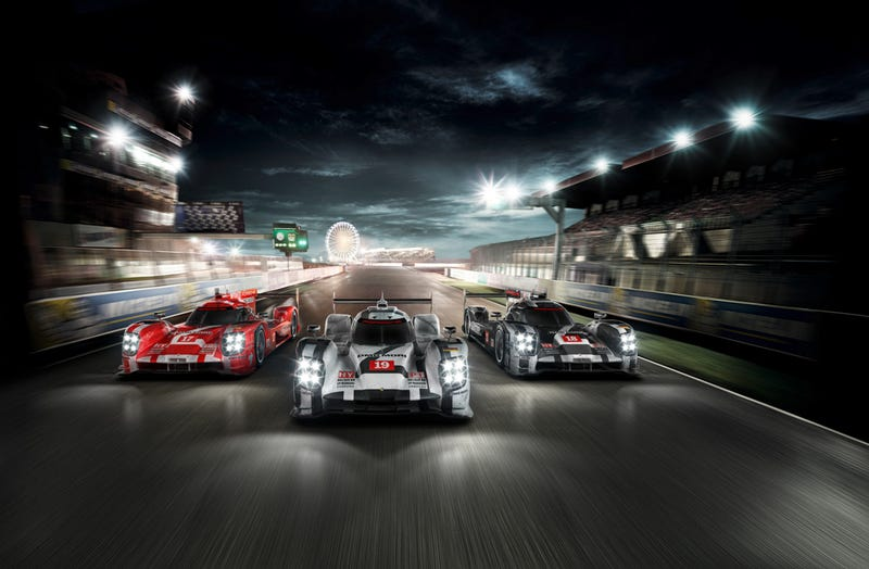 Illustration for article titled 2015 Toyota TS040 & Porsche 919 Unveiled!