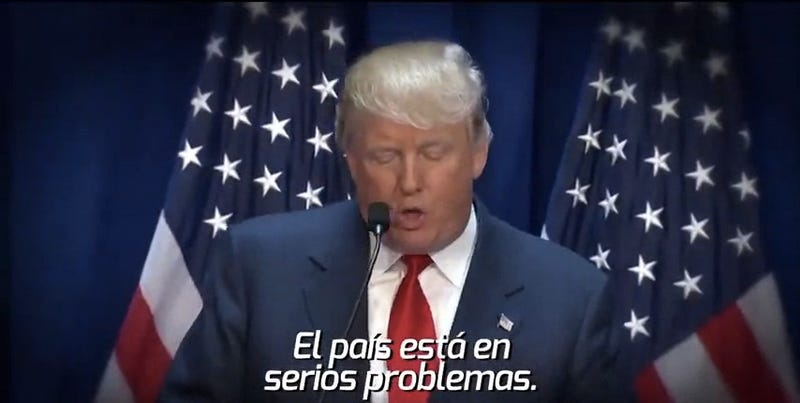 Illustration for article titled Mexican TV Station Uses Donald Trump To Troll USMNT