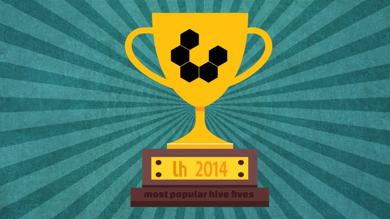 Illustration for article titled Most Popular Hive Fives of 2014