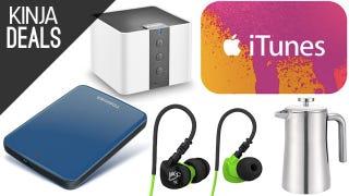 Today's Best Deals: iTunes Credit, Headphones, Storage, and More