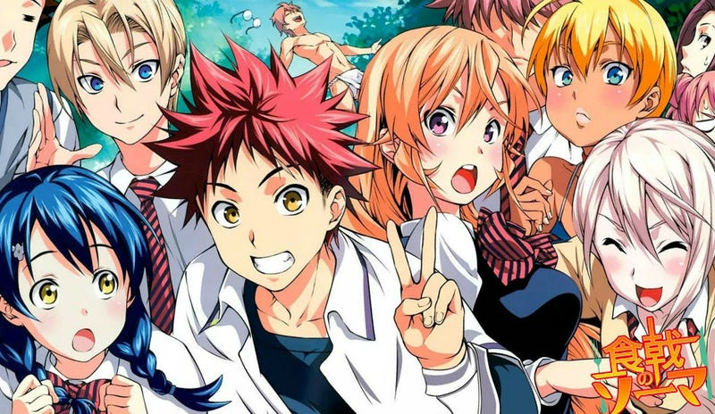 Illustration for article titled Sentai Filmworks will bring Food Wars! The Second Plate Anime