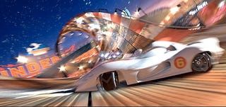 Illustration for article titled First Pictures From Speed Racer Movie