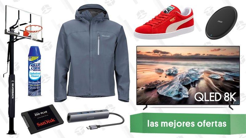 Illustration for article titled Las mejores ofertas de este jueves: Televisor 8K, PUMA, auriculares de Mpow y más