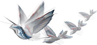 Illustration for article titled iBird R/C Toy Looks Like Flapping Good Fun