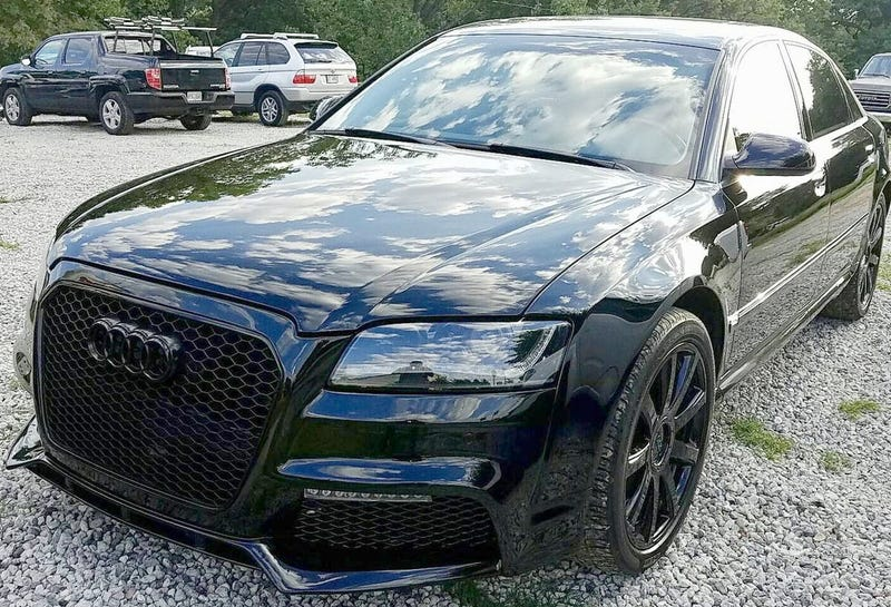 At Could This Audi A W Executive Be Your Stealthy - Audi a8 w12