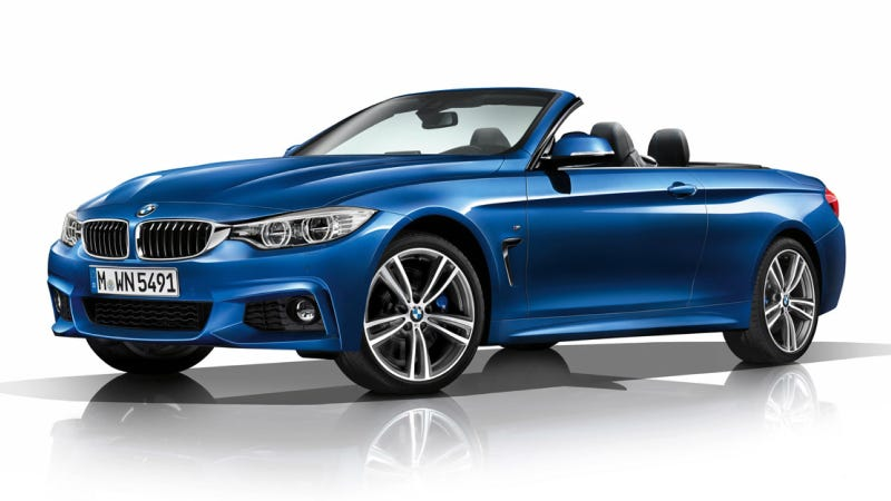 Illustration for article titled 2014 BMW 4-Series Convertible: This Is It