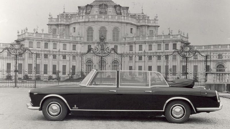 Illustration for article titled Lancia Flaminia Presidenziale