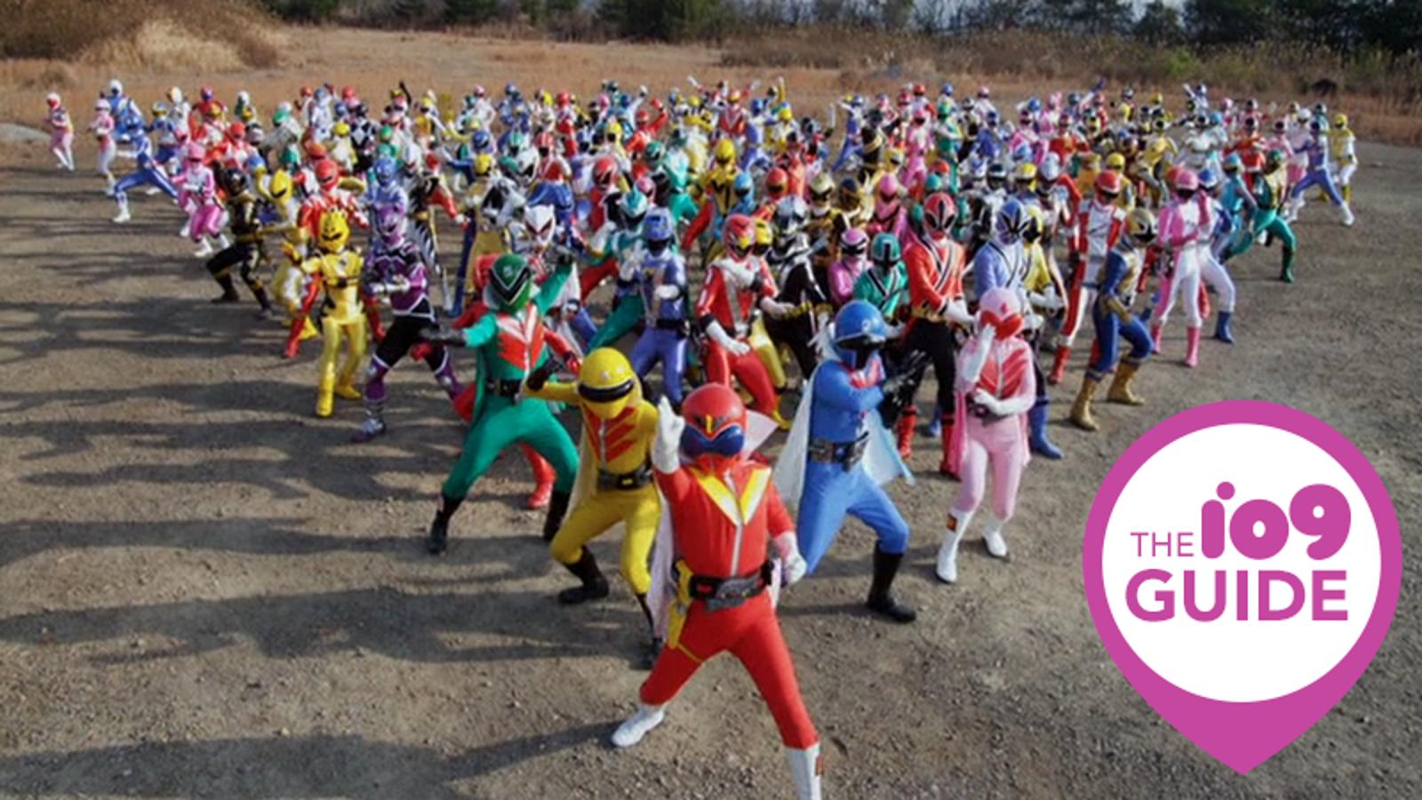 The io9 Guide to Super Sentai