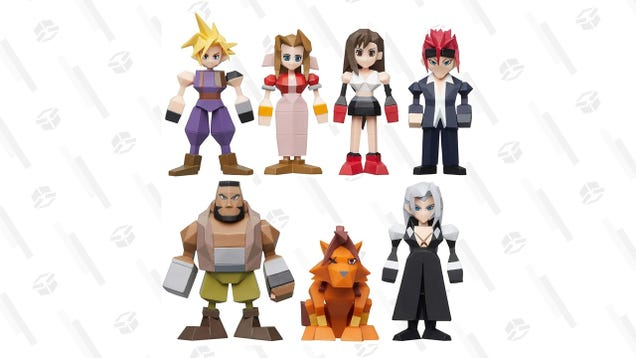 Pre-Order These Amazing Final Fantasy VII Polygon Figurines for $64