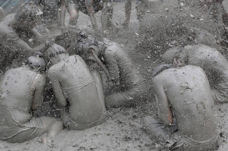 Illustration for article titled A Festival of Mud for Makeup